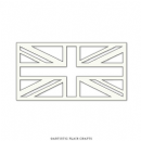 "Artistic Flair, Craft Stencil 101 Pieces - (4"") - Union Jack"